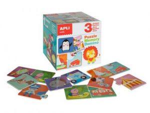 Apli Puzzle, Memory and Domino Game