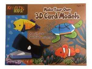 KandyToys - Sea Creatures & Dinosaurs 3D Paper Models