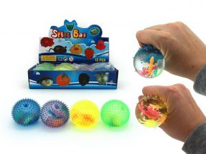 Squeezy Water Ball with Insects Inside