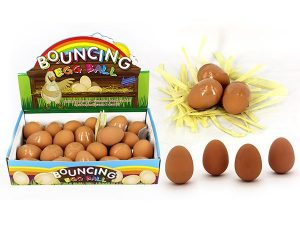 Bouncing Egg - Egg Shaped Rubber Ball