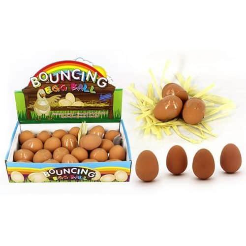 Bouncing Egg - Egg Shaped Rubber Ball