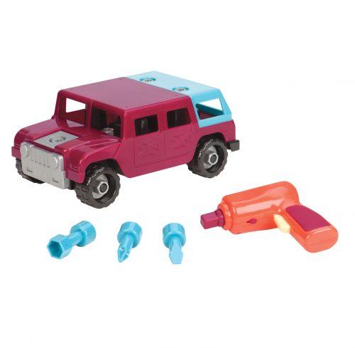 Battat - Take Apart 4 x 4 Off Road Toy Truck