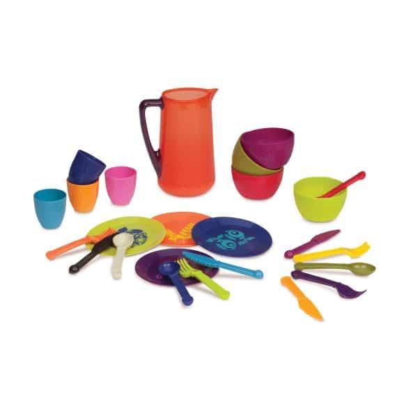 B. Toys by Battat - Let's Dish Toy  25 piece Dish Set
