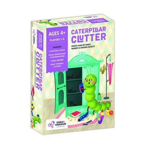 Chalk and Chuckles - Caterpillar Clutter – A Speedy Game of Memory and Shadow Objects