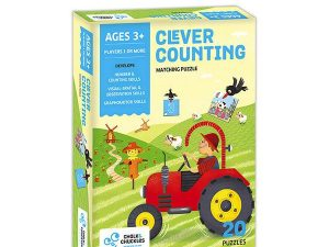 Chalk and Chuckles - Clever Counting – Matching Puzzle