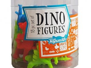 Dinosaur Figurines in a Tub