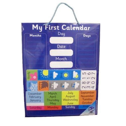 Calendar & Weather Chart