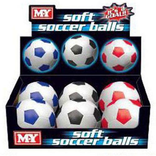 Soccer Ball – Soft PVC 6″ (15.24cm)