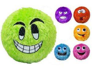 """Fuzzy Face 12"""" Ball"""