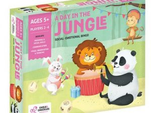 Chalk and  Chuckles - A Day In The Jungle - Social Emotional Bingo