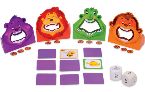 Chalk and Chuckles - Hungrrry Four – A Memory and Movement Game