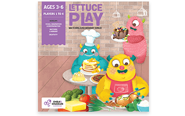 Chalk and Chuckles - Lettuce Play – Matching and Memory Bingo
