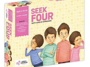 Chalk and Chuckles - Seek Four – A Nutty Game of Expressions