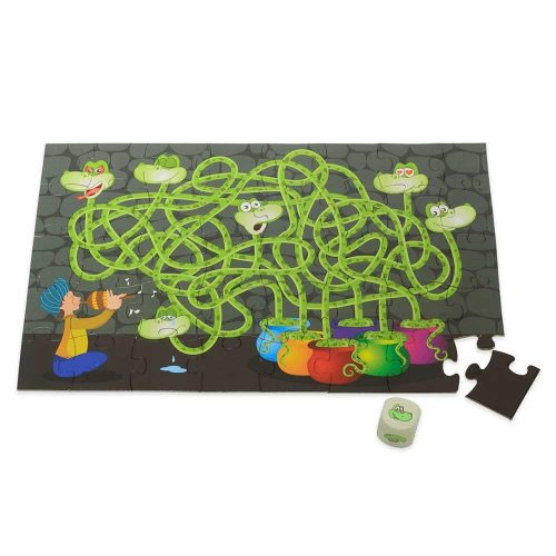 Chalk and Chuckles - Moody Snakes – A Maze and A Puzzle