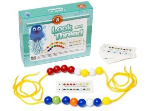 Learning Can Be Fun - Look & Thread Bead Set