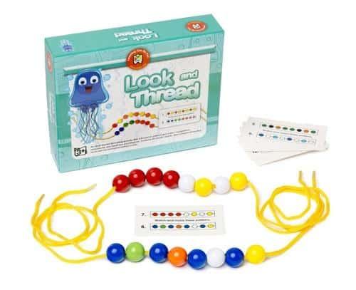 Learning Can Be Fun - Look & Thread Bead Set