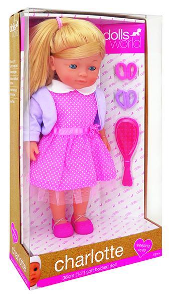 Dolls World by Peterkin - Charlotte 36cm Doll