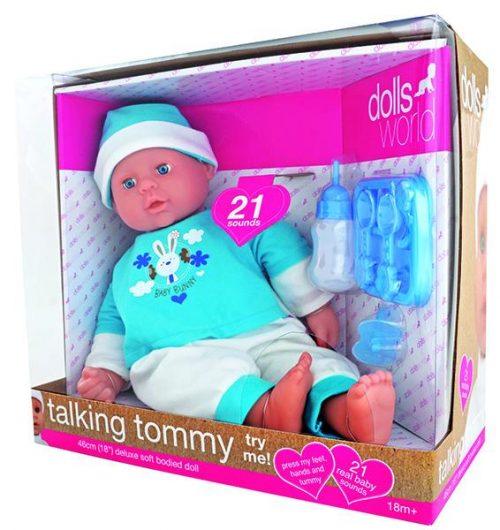 Dolls World by Peterkin - Talking Tommy 46cm Doll
