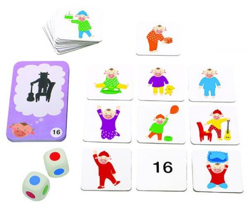 Chalk and Chuckles - Pajama Party - Categorisation game