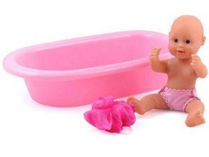 Dolls World by Peterkin - Baby Bathtime