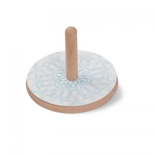 Colour In Wooden Spinning Top