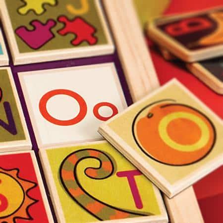 B. Toys by Battat - Magnetic Alphabet Puzzle