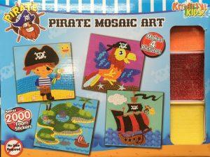 Craft Kit - Pirate Mosaics