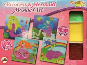 Craft Kit - Princess and Mermaid Mosaics