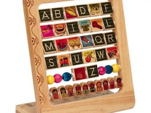 B. toys by Battat -AB3 Wooden Alphabet Abacus