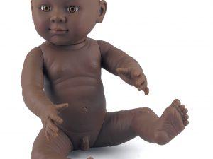 Dolls World by Peterkin - Anatomically Correct Male Doll - Dark Skin Tone