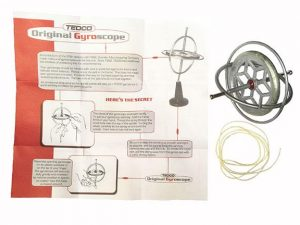 Gyroscope - Tedco Brand, Science Toy, Educative and Calming