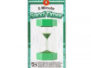 Learning Can Be Fun - Large 5 Minute Sand Timer