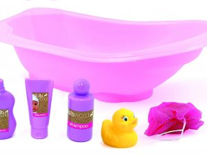 Dolls World by Peterkin - Dolls Bath Set