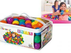 Intex Fun Ballz -100 pieces in a carry bag