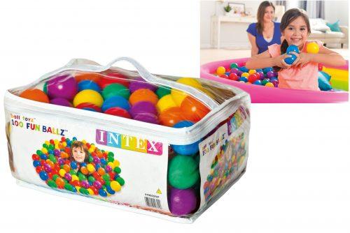 Intex Fun Ballz -100 pieces in a carry bag