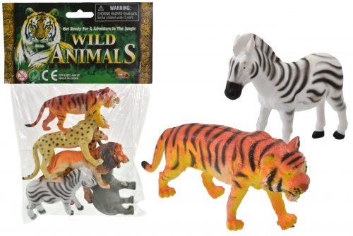 "Wild Animals - Pack of 6 - 5.5"""