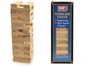 KandyToys - Wooden Tumbling Tower - Large
