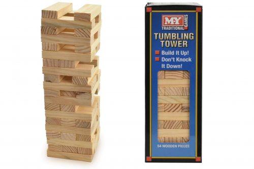 KandyToys - Wooden Tumbling Tower - Large