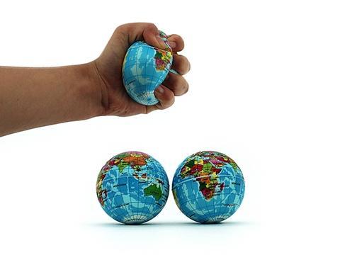 Stress Ball - Foam Earth Shaped