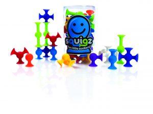Fat Brain Toys - 24 piece Squigz Starter Set