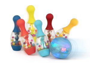 B. toys by Battat - Light Up Bowling Set