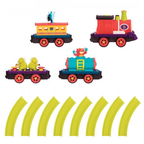 B.toys by Battat - Critter Train Set