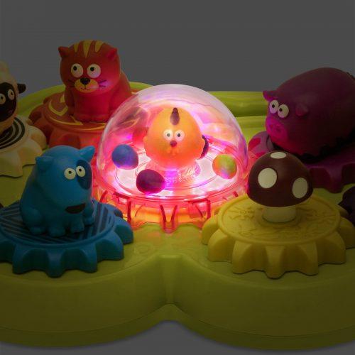 B. Toys Moosical Gears - Musical Animal Shape Sorter