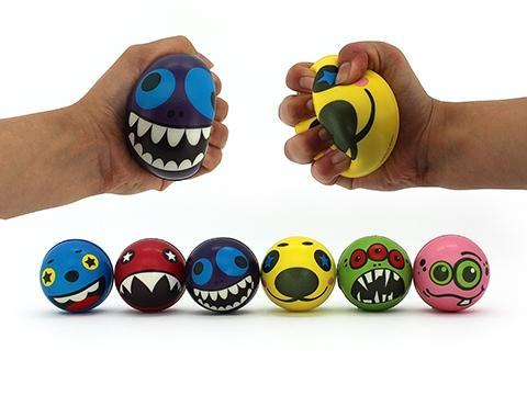 Funny Face Stress Squeeze Balls