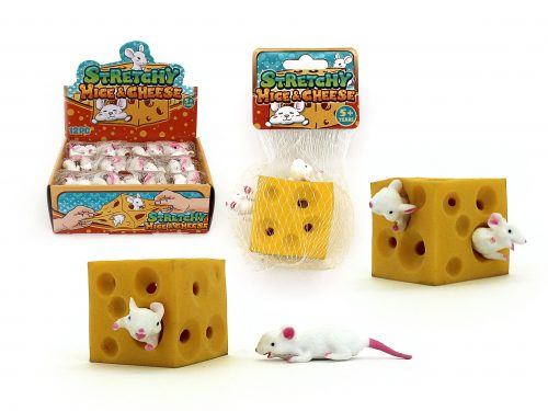 Stretchy Cheese and Mouse