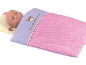 Dolls World by Peterkin - Dolls Quilt and Pillow for Dolls up to 46cm