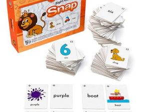 Learning Can Be Fun - Basic Sight Word Snap
