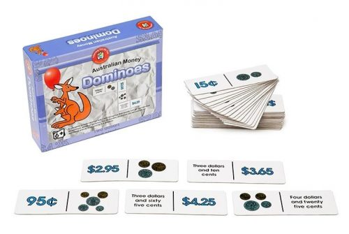 Learning Can Be Fun - Australian Money Dominoes