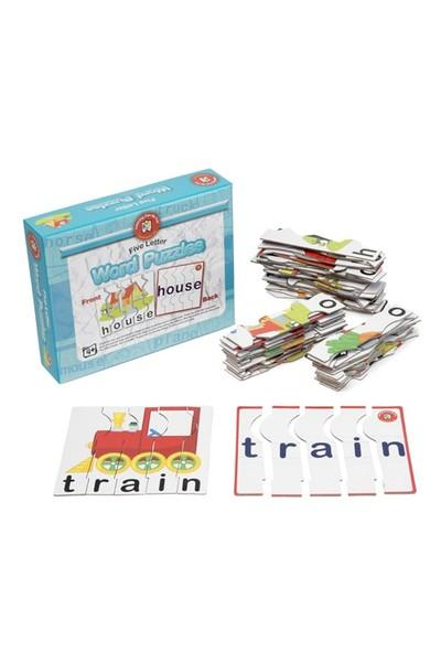 Learning Can Be Fun - Five Letter Word Puzzles