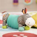 B.toys by Battat - Soft Accordion Zebra
